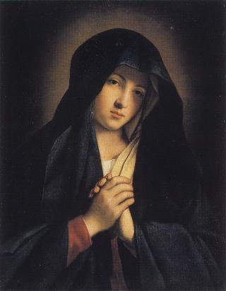 Our Lady of Sorrows by Sassoferrato