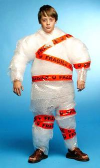 Image result for bubble wrap girl