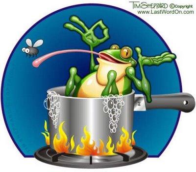 frog-boiling