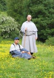 Fr. Gabriel and Fr. Agnellus